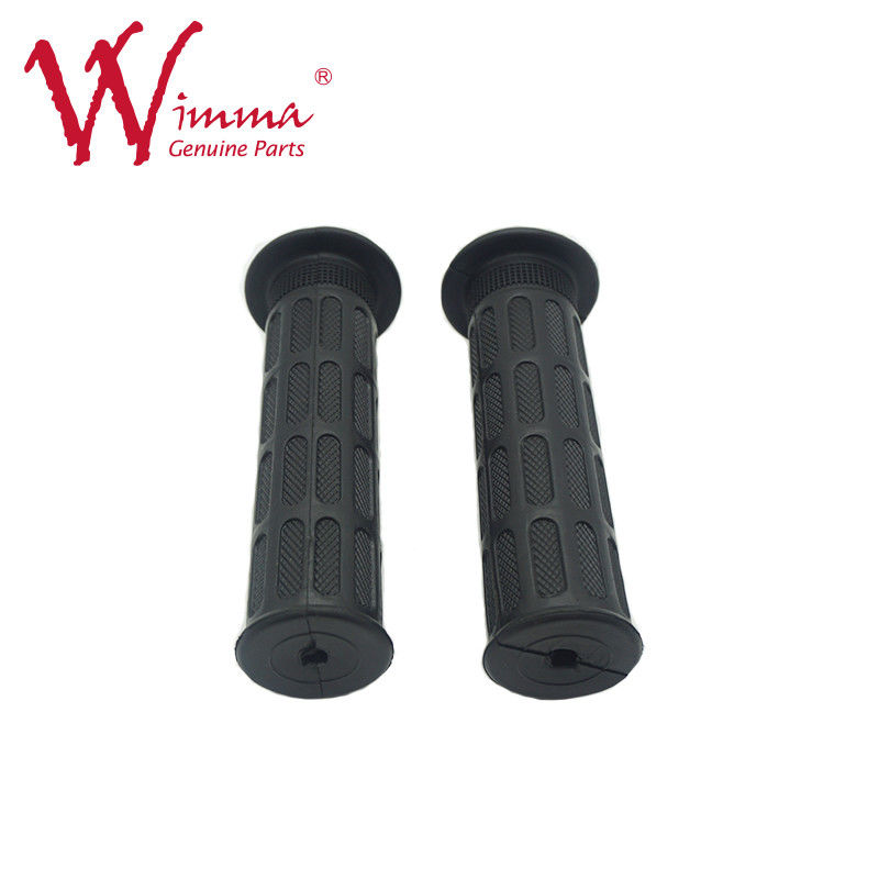 Black Color CG125 Motorcycle Hand Grips For Motorcycle Control System